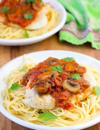 Easy Chicken Cacciatore Recipe | ASpicyPerspective.com