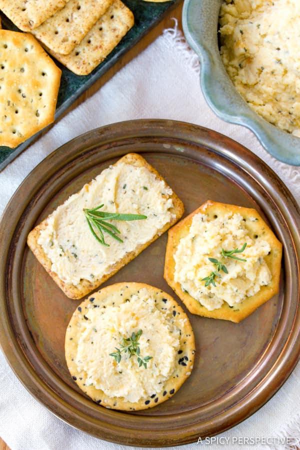 Best Homemade Cheese Spread | ASpicyPerspective.com
