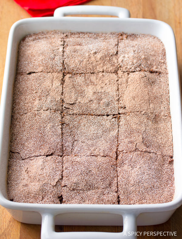 Fudgy Mexican Brownies Recipe | ASpicyPerspective.com