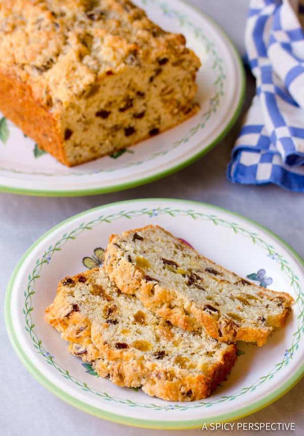 Heavenly Sweet Irish Soda Bread | ASpicyPerspective.com