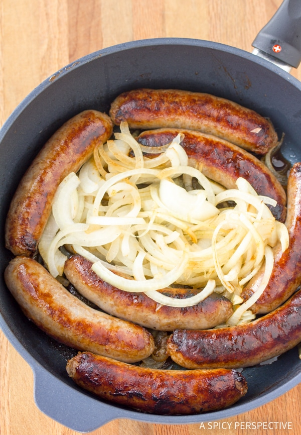 Must-Make Bangers and Mash Recipe #saintpatricksday