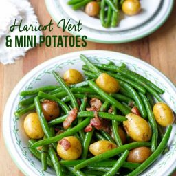 Vibrant Haricot Vert & Mini Potatoes