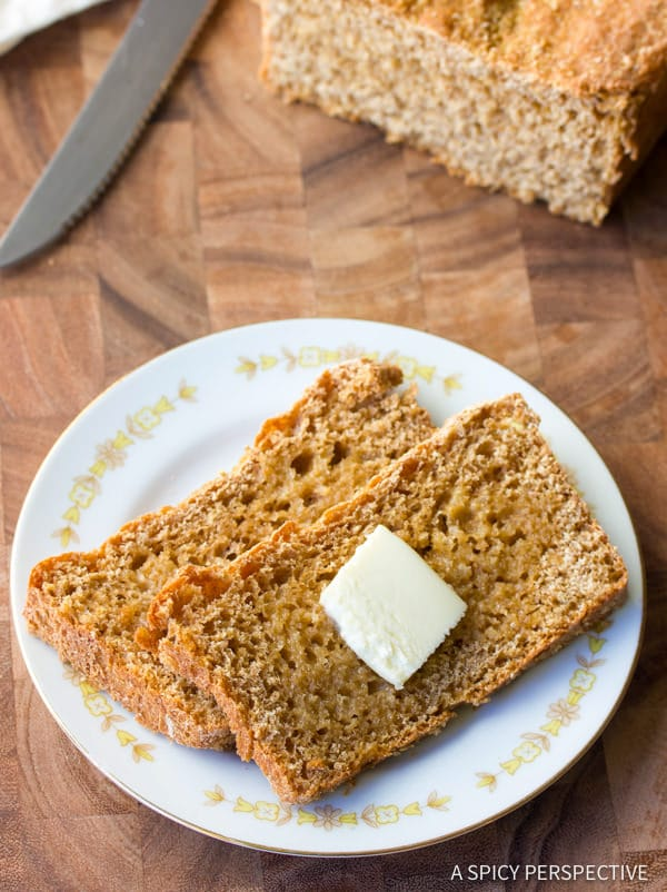 Heavenly Soft Whole Wheat Bread | ASpicyPerspective.com