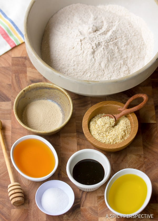 Making Soft Whole Wheat Bread | ASpicyPerspective.com