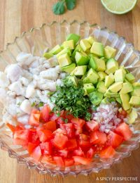 Classic Ceviche Recipe #healthy #lowcarb #paleo