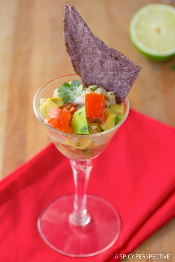 Classic Ceviche Recipe #healthy #lowcarb #paleo