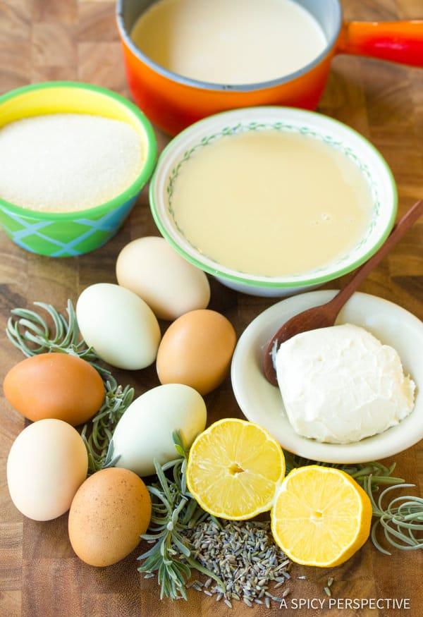 Making Creamy Lavender Flan Recipe   ASpicyPerspective.com