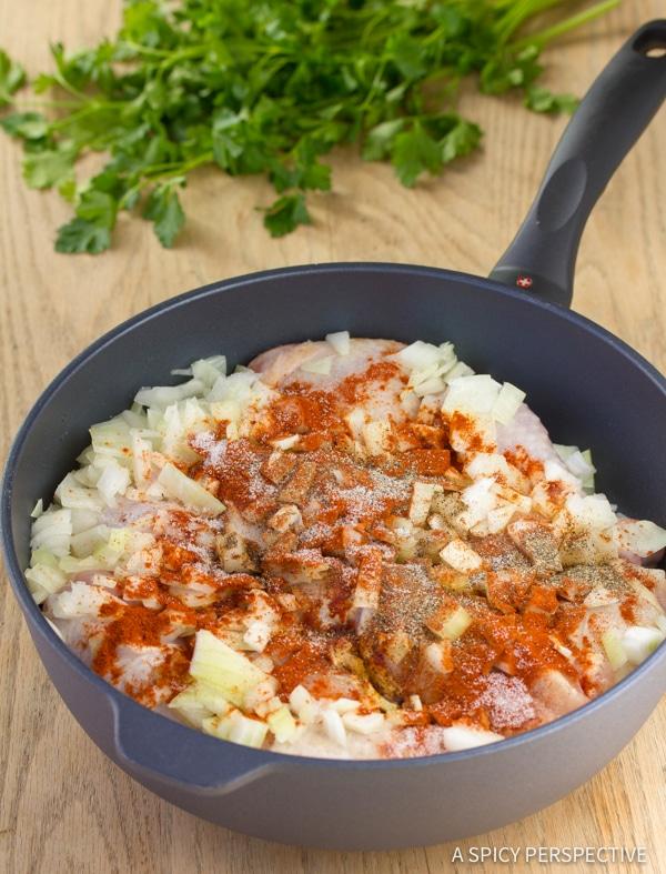 How to Make Hungarian Chicken Paprikash (Paprikas)   ASpicyPerspective.com