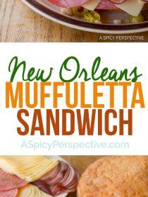 The New Orleans Muffuletta Sandwich | ASpicyPerspective.com