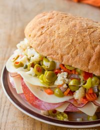To Die For! New Orleans Muffuletta Sandwich | ASpicyPerspective.com