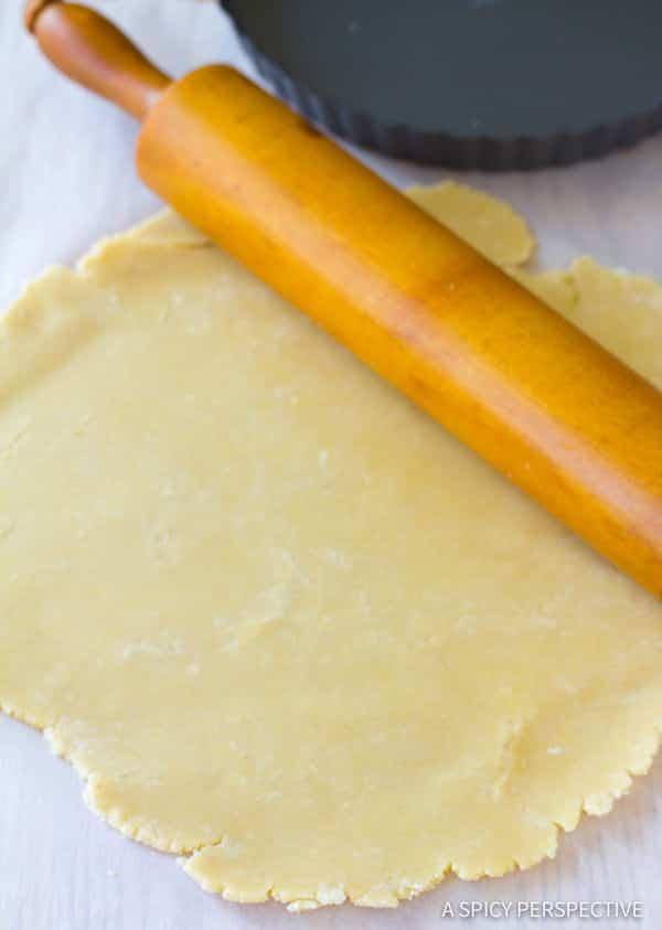 Fresh Tomato Tart Crust | ASpicyPerspective.com