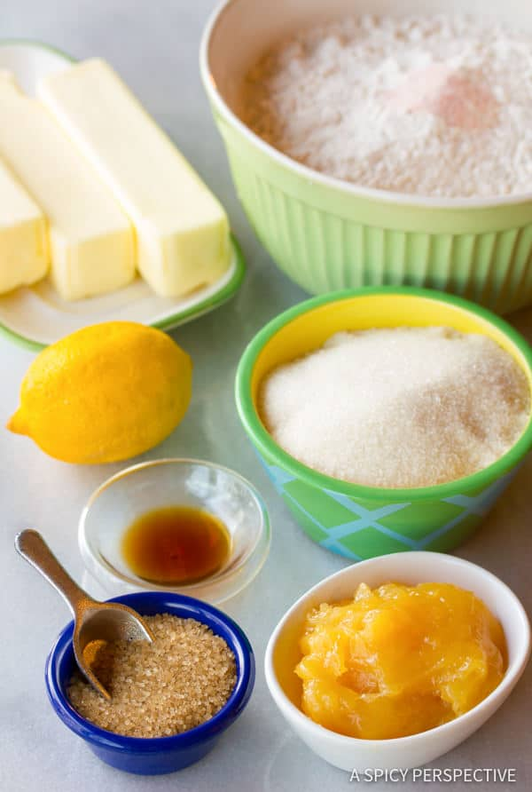 Making Lemon Drop Thumbprint Cookies Recipe | ASpicyPerspective.com