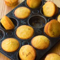 Dazzling Maple Bacon Corn Muffins Recipe | ASpicyPerspective.com