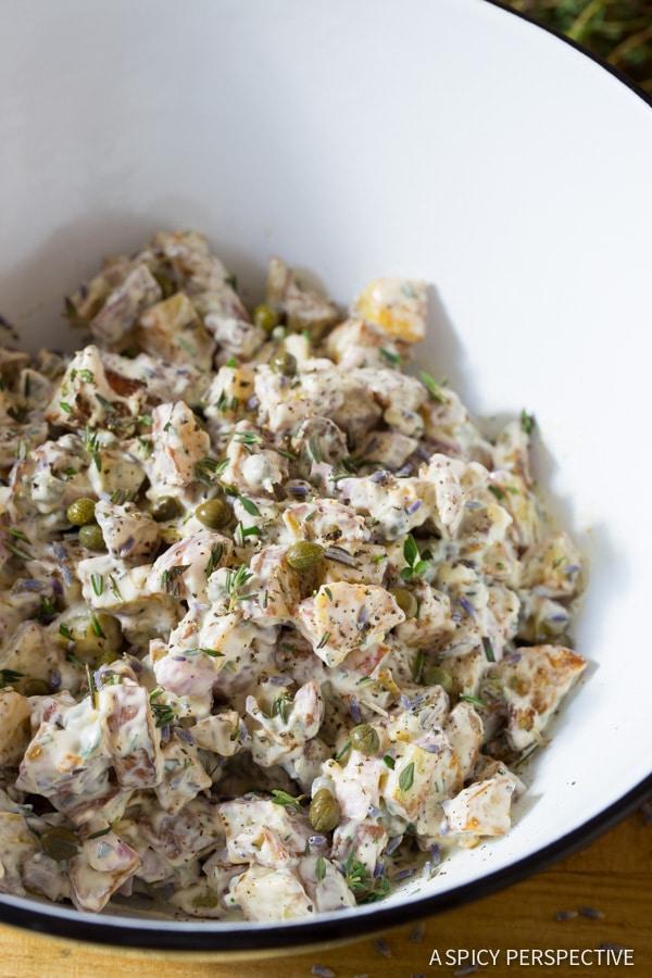 Provincial Style Red Potato Salad Recipe