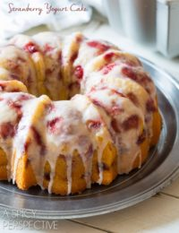 Fresh Strawberry Yogurt Cake - Our Most Shared Recipe!