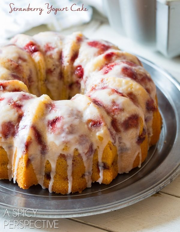 Fresh Strawberry Bundt Cake Recipe Video A Spicy Perspective