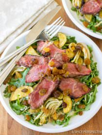 """The Man"" Steak Salad 