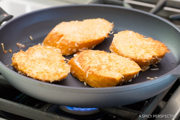 How to Make Crispy Coconut French Toast on ASpicyPerspective.com #coconut