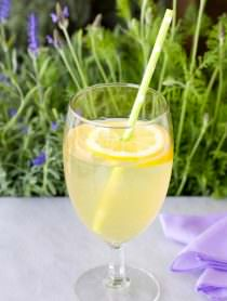 French Lavender Lemonade Recipe | ASpicyPerspective.com