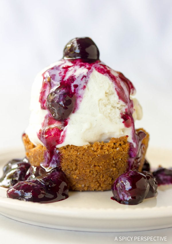 Gingersnap Ice Cream Cups Recipe