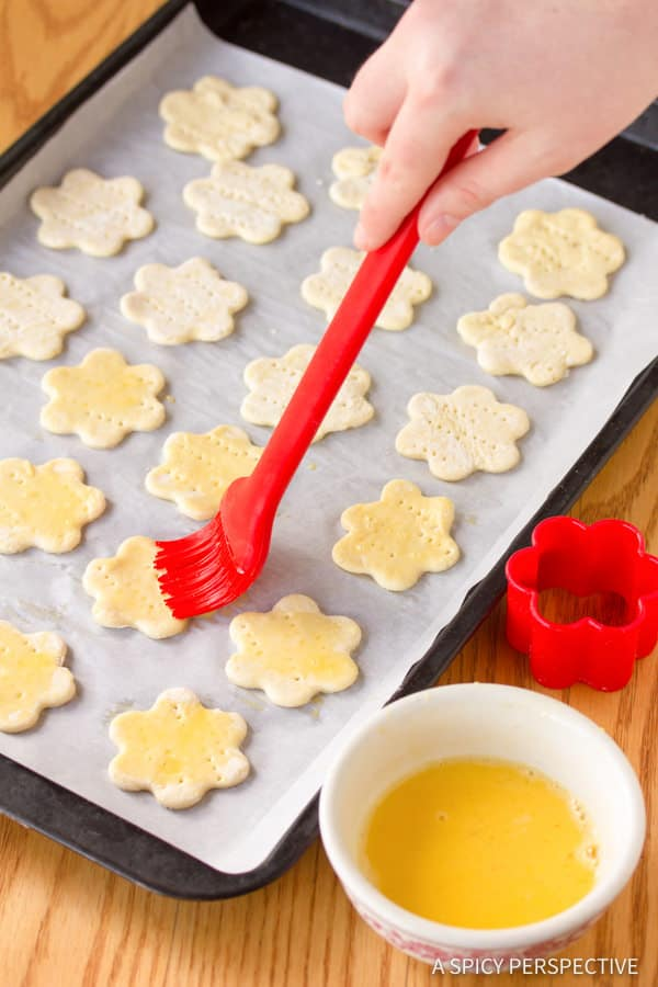 Making Strawberry Brie Tartlets Recipe | ASpicyPerspective.com