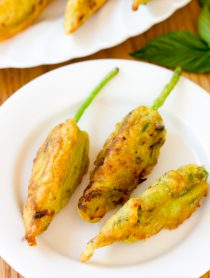 Market Stuffed Squash Blossoms Recipe