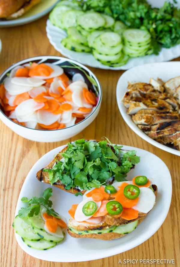 Best Vietnamese Banh Mi Sandwich | ASpicyPerspective.com