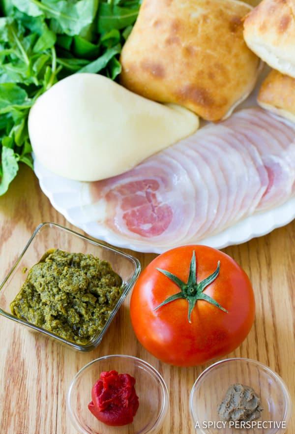 Making Zesty Italian Burgers | ASpicyPerspective.com