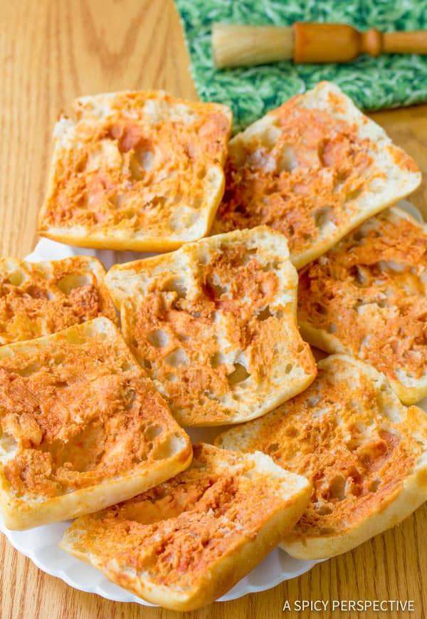 Zesty Italian Burger Recipe | ASpicyPerspective.com