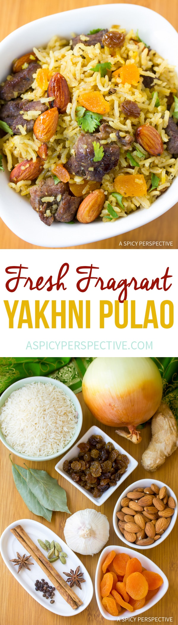 Fresh Fragrant Yakhni Pulao Recipe