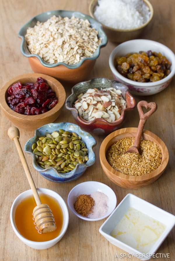Making the Best Classic Homemade Granola Recipe | ASpicyPerspective.com