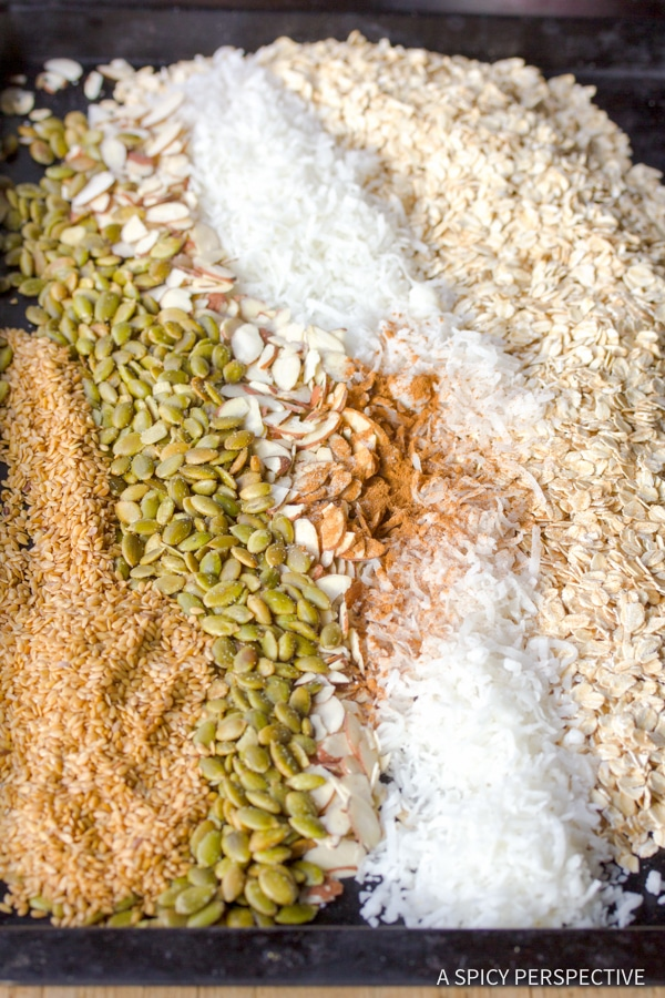 How to Make the Best Classic Homemade Granola Recipe | ASpicyPerspective.com