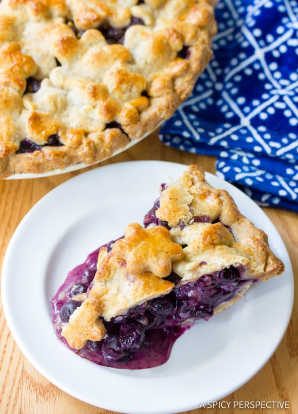 Fresh Blueberry Pie with Almond Pie Crust - Page 2 of 2 ...