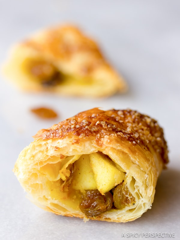 Perfect Curried Apple Turnovers | ASpicyPerspective.com