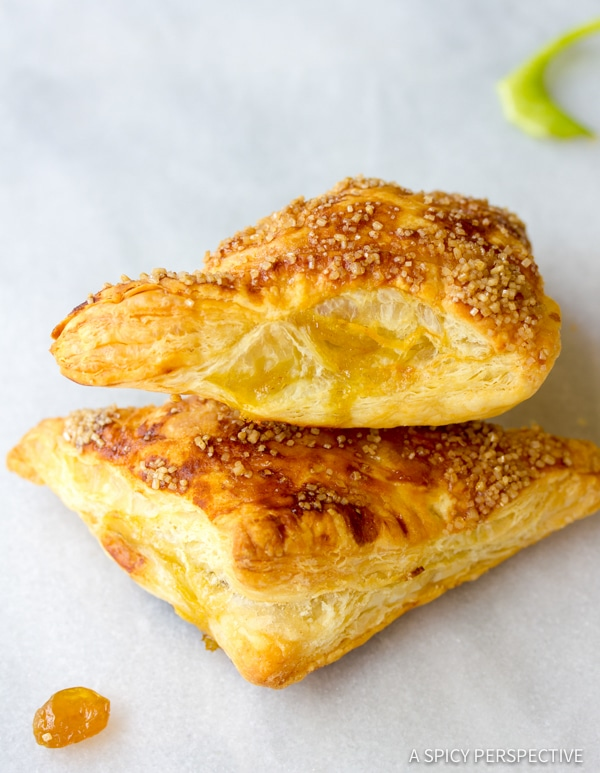 Best Curried Apple Turnovers | ASpicyPerspective.com