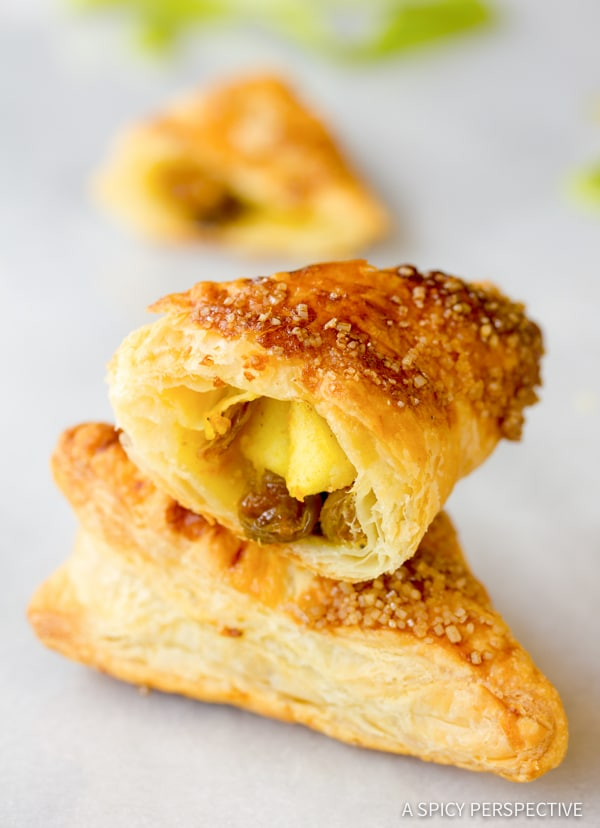 Amazing Curried Apple Turnovers | ASpicyPerspective.com