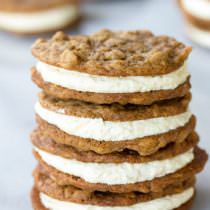 Homemade Oatmeal Cream Pies Recipe | ASpicyPerspective.com