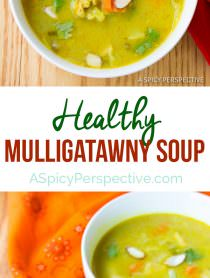 The Best Healthy Mulligatawny Soup | ASpicyPerspective.com #LowCarb #GlutenFree