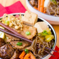Pork Sukiyaki Recipe #healthy