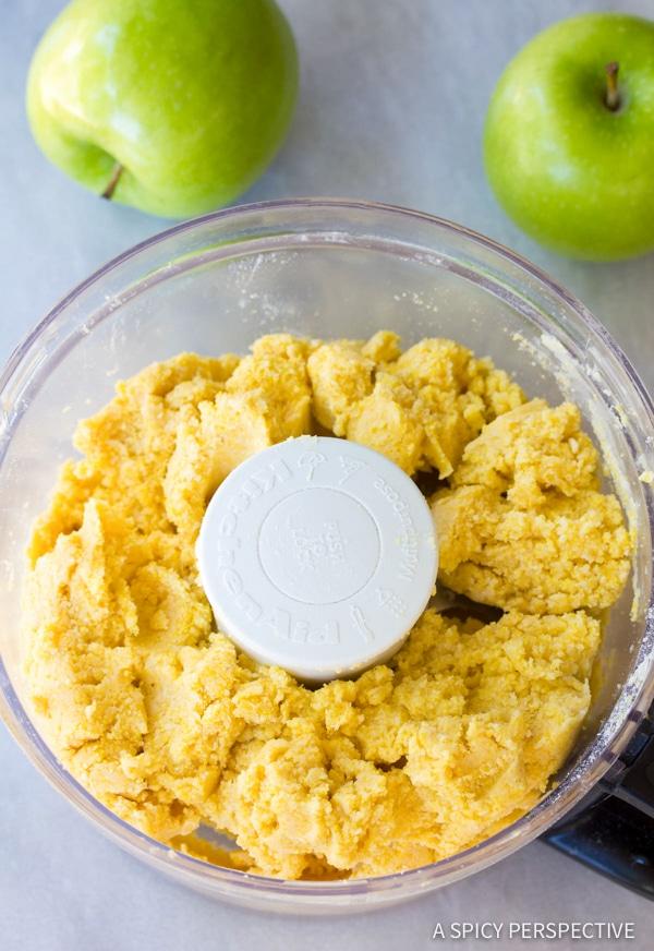 Making Brandy Apple Hand Pies with Cornmeal Crust | ASpicyPerspective.com
