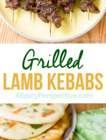 """Perfect """"Street Meat"""" Grilled Lamb Kebabs 