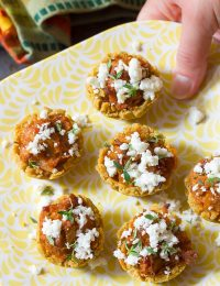 Easy Tamale Bites Recipe on ASpicyPerspective.com