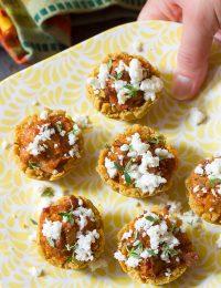 Easy Tamale Bites Recipe on ASpicyPerspective.com