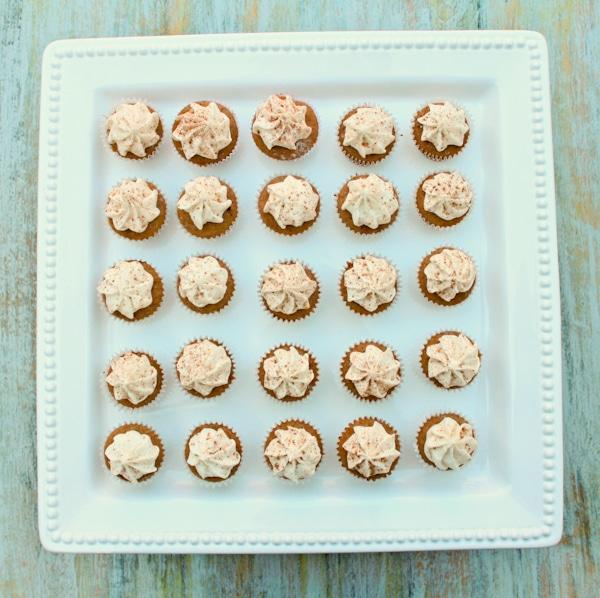 Mini Chai Cupcakes