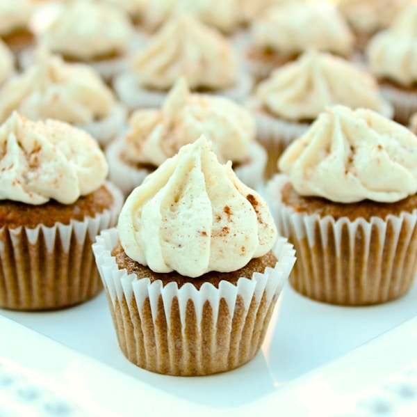 Chai Latte Cupcakes - A Spicy Perspective
