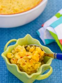 "AWESOME! Famous Corn Pudding Recipe on ASpicyPerspective.com. Known as ""Damn Good Corn Pudding"" in Asheville, NC."