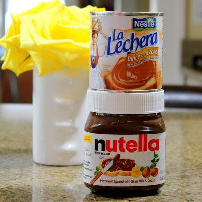 Dulche De Leche and Nutella