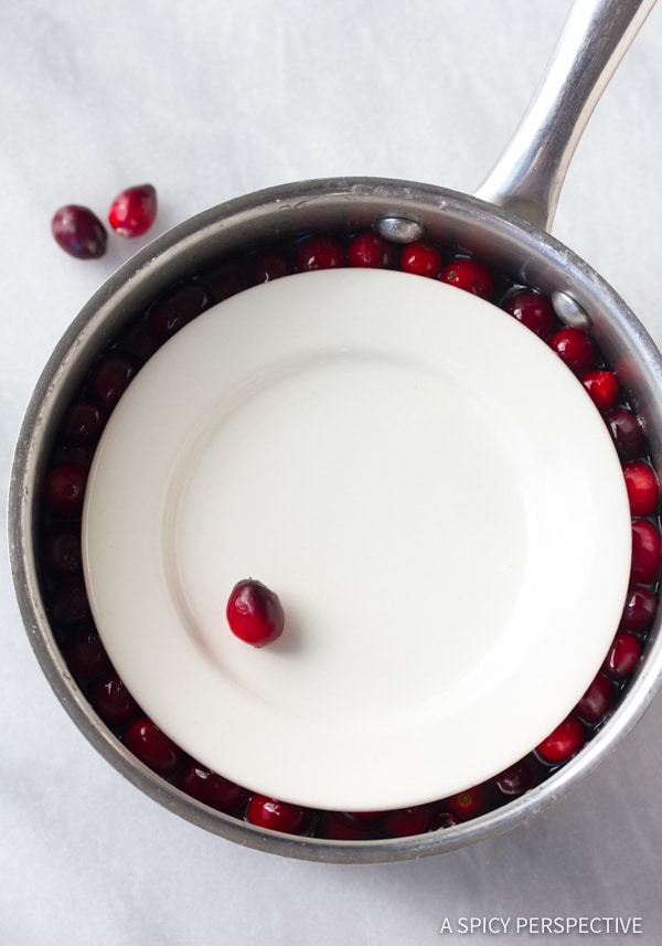How To: Vanilla Orange Candied Cranberries