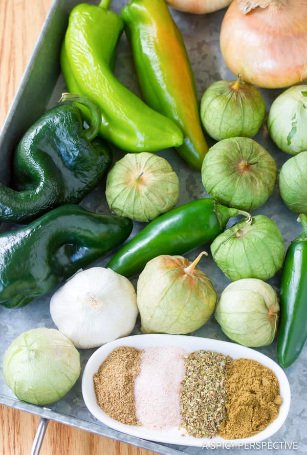 Making New Mexico Chile Verde (Green Chili)