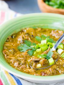 New Mexico Chile Verde (Green Chili)
